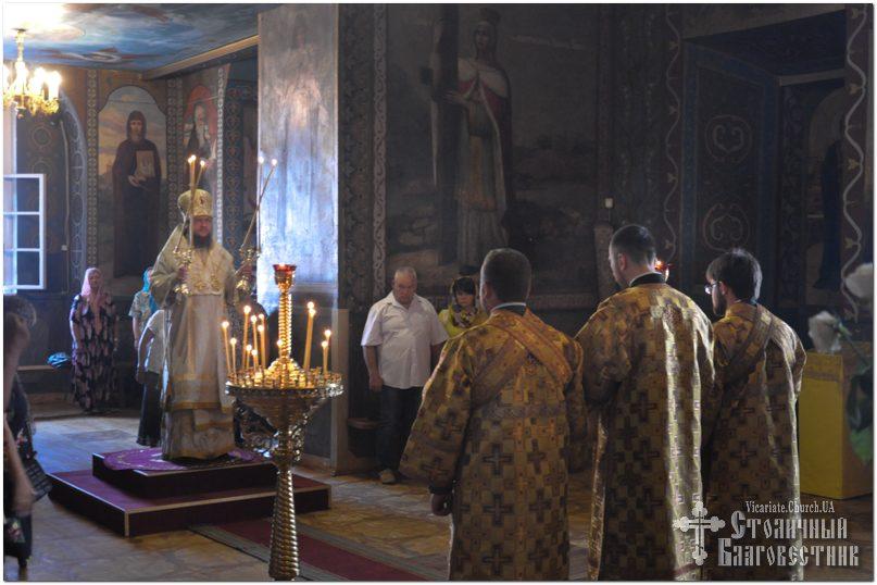 Архиепископ Феодосий совершил Литургию в Неделю 10-ю по Пятидесятнице