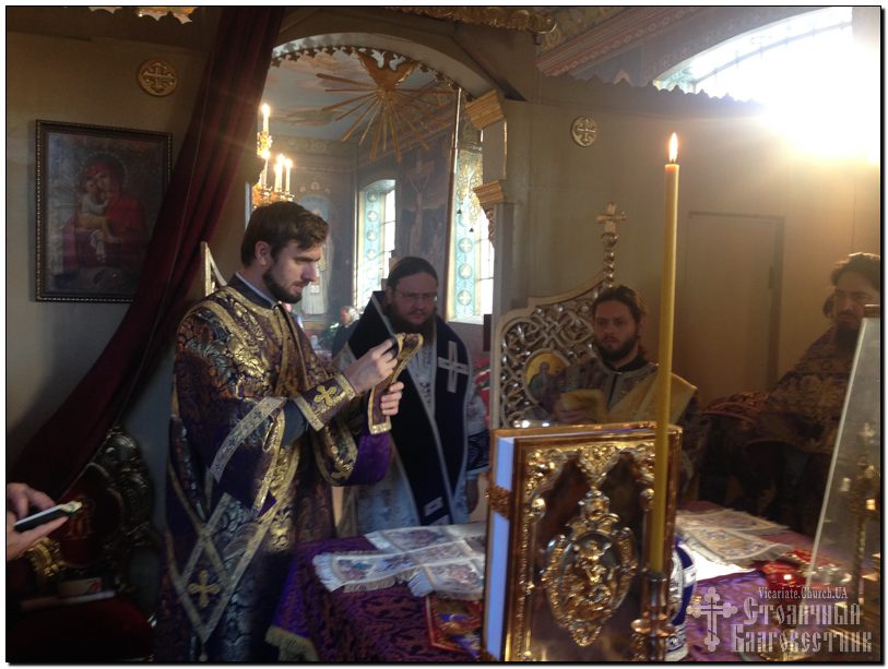 Архієпископ Феодосій звершив Літургію у Неділю 18-ту після П'ятидесятниці