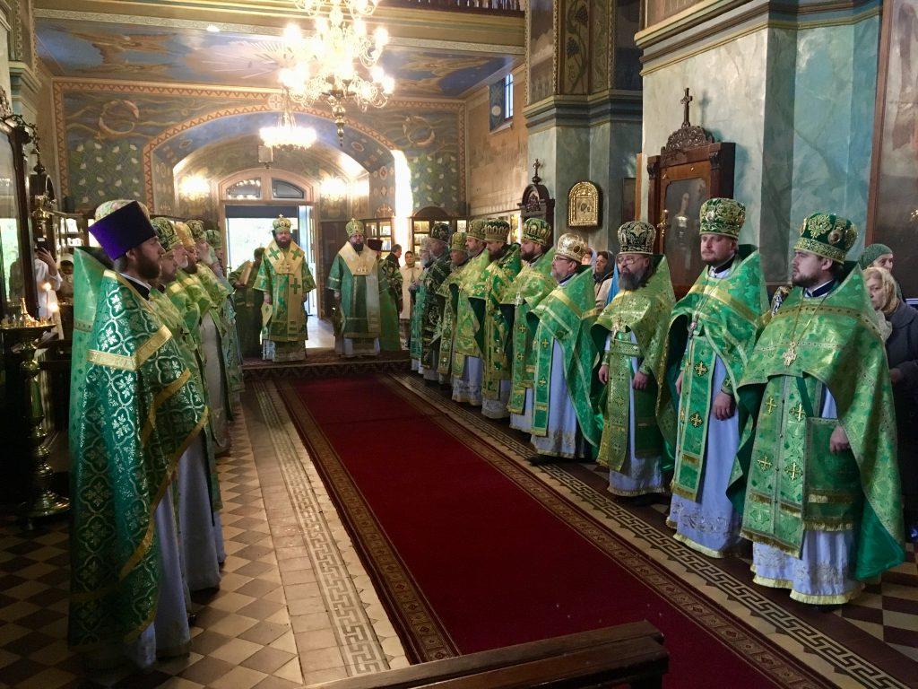 Секретарь Киевской епархии молитвенно отметил День тезоименитства