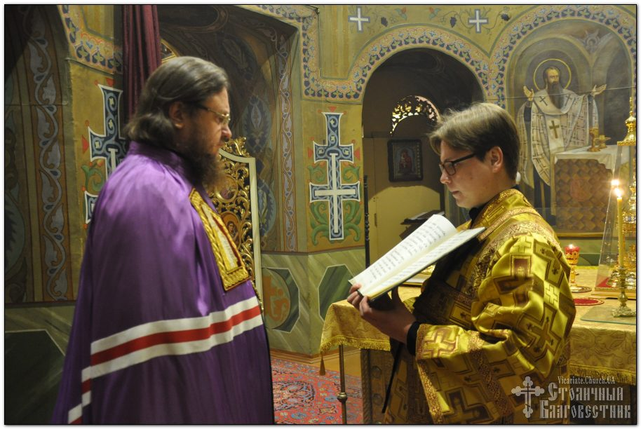Архиепископ Феодосий совершил всенощное бдение накануне Недели 24-й по Пятидесятнице