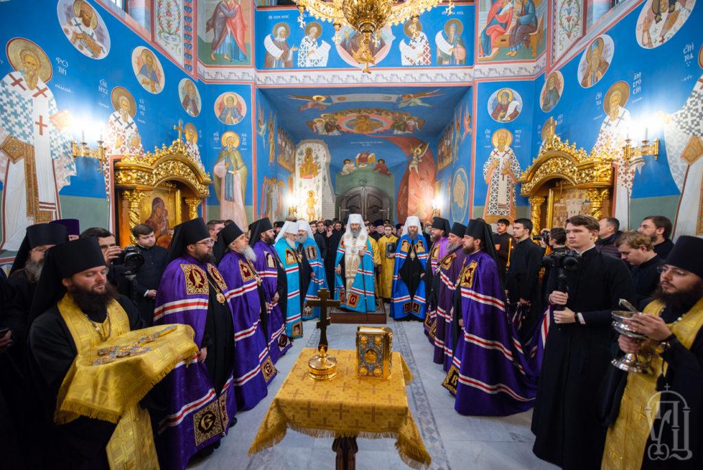Архієпископ Феодосій взяв учать у чині наречення новообраних вікарних єпископів (+ВІДЕО)