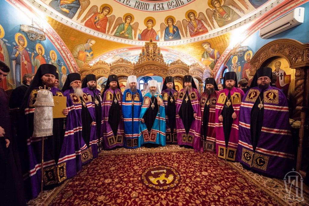 Архиепископ Феодосий сослужил Предстоятелю УПЦ и принял участие в архиерейской хиротонии новоизбранного викария Киевской Митрополии (+ВИДЕО)