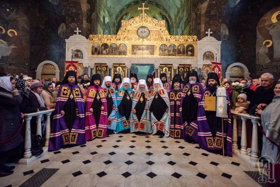 Архієпископ Феодосій співслужив Предстоятелю та взяв участь в архієрейській хіротонії новообраного вікарія Дніпропетровської єпархії (+ВІДЕО)