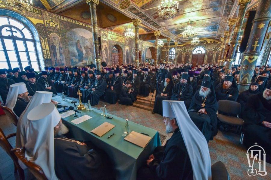 Архієпископ Феодосій взяв участь у щорічних єпархіальних зборах Київської єпархії (+ВІДЕО)