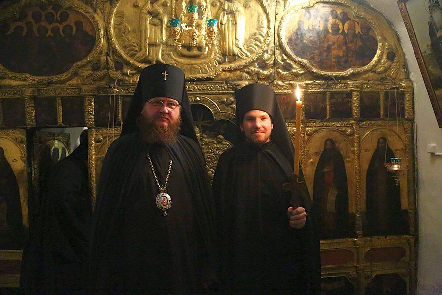 Архієпископ Феодосій взяв участь у чернечому постригу свого старшого іподиякона (+ВІДЕО)