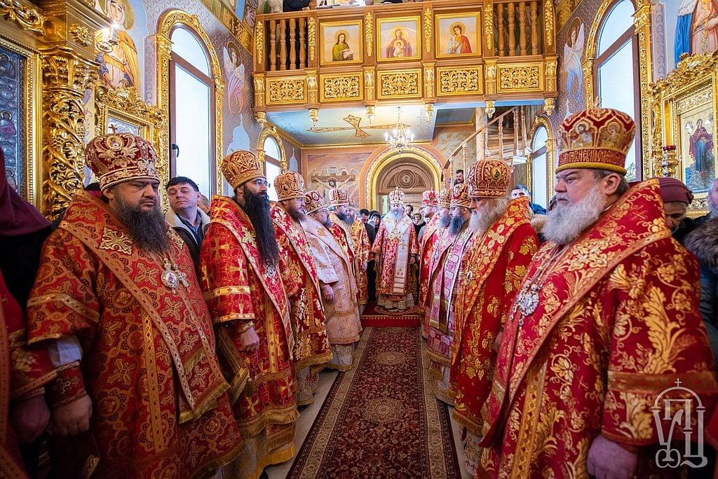 Архієпископ Феодосій співслужив Предстоятелю у Свято-Анастасіївському монастирі с.Ковалівка (+ВІДЕО)