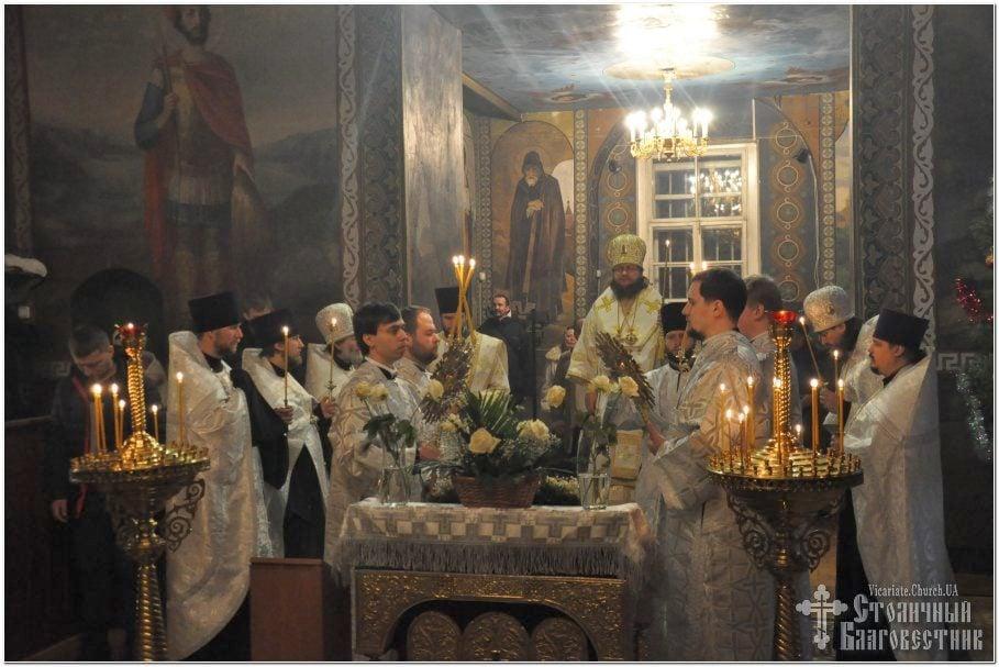Архиепископ Феодосий совершил всенощное бдение накануне Недели 33-й по Пятидесятнице