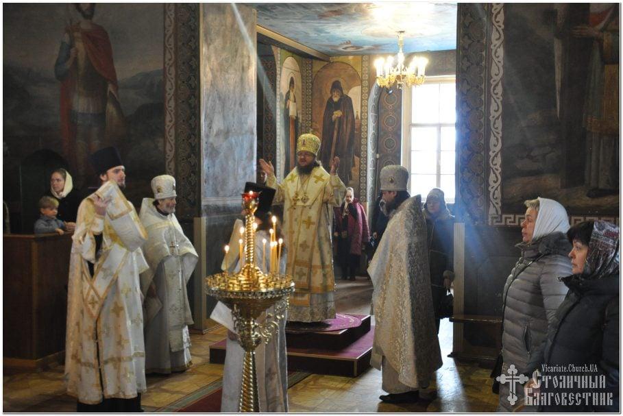Архиепископ Феодосий совершил Литургию в Неделю 35-ю по Пятидесятнице