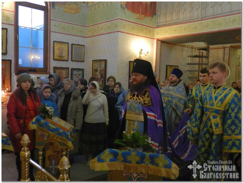 Архиепископ Феодосий совершил Литургию в день праздника Сретения Господня (+ВИДЕО)