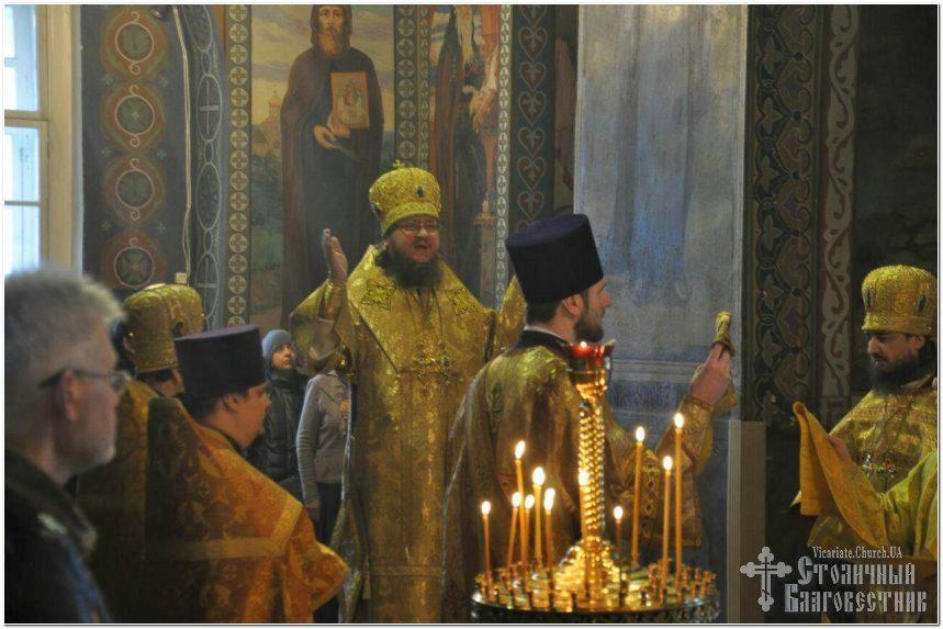 Архієпископ Феодосій звершив Літургію у Неділю 37-му після П'ятидесятниці