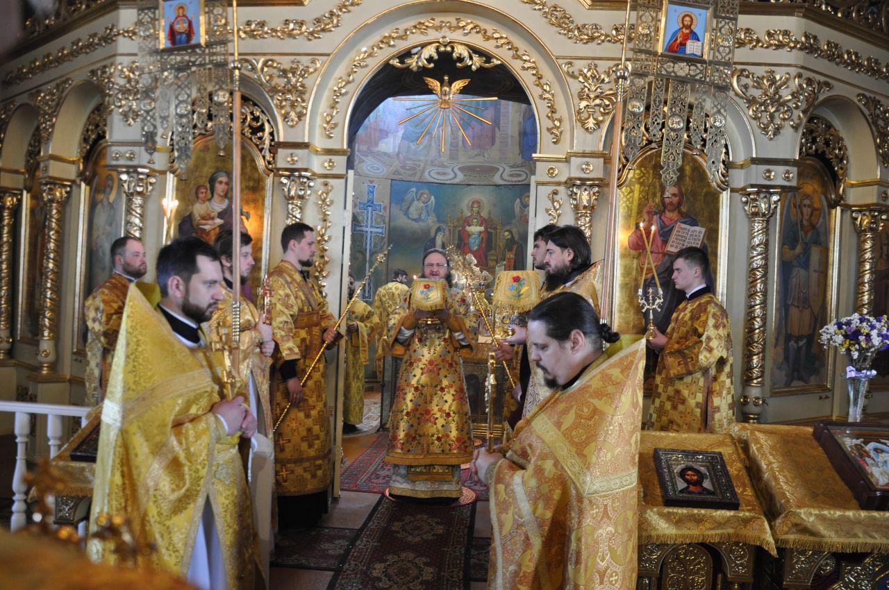 Архієпископ Феодосій звершив Літургію в Неділю м'ясопусну, про Страшний суд