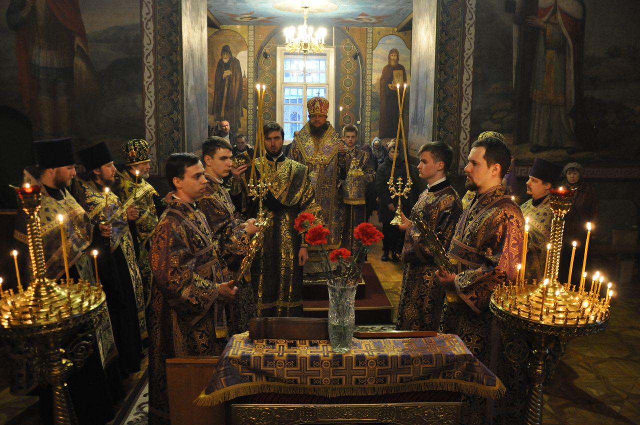 Архиепископ Феодосий совершил всенощное бдение накануне Недели 2-й Великого поста