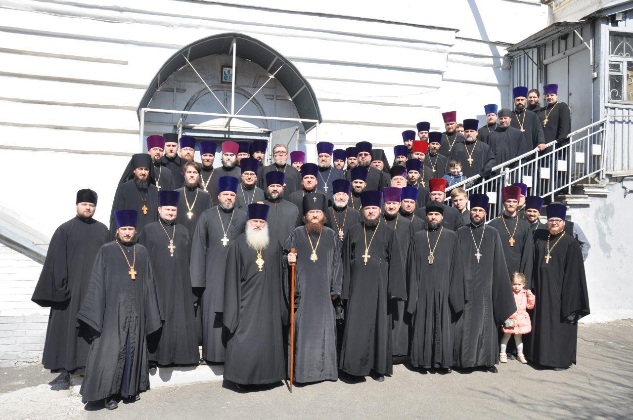 Архієпископ Феодосій провів загальні збори духовенства Північного київського вікаріатства