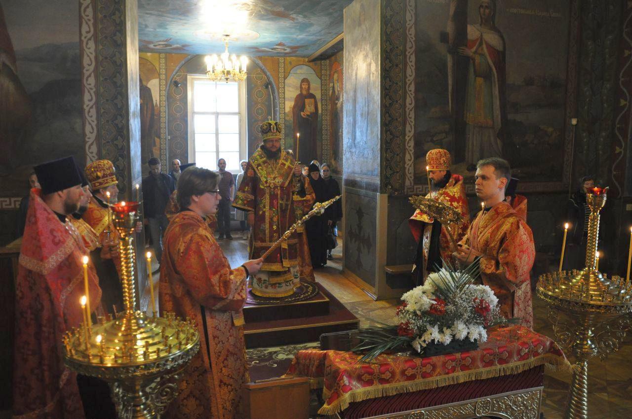 Архиепископ Феодосий совершил всенощное бдение накануне Недели 3-й по Пасхе