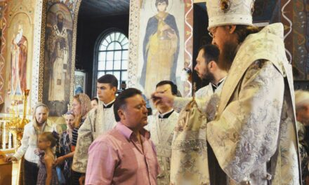 Архієпископ Феодосій звершив всенічне бдіння напередодні свята Вознесіння Господнього