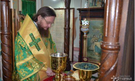 Архиепископ Феодосий молитвенно отметил День тезоименитства