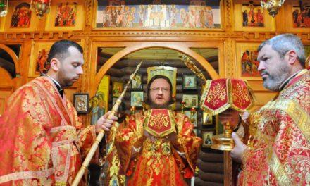 Архієпископ Феодосій звершив Літургію престольного свята в храмі святих Царствених страстотерпців