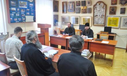 Архієпископ Феодосій провів ставленицький іспит для кандидатів на висвячення у священний сан в м.Києві