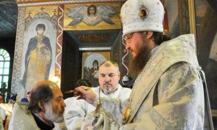 Архиепископ Феодосий совершил всенощное бдение накануне праздника Преображения Господня