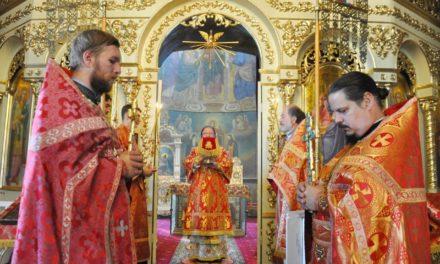 Архієпископ Феодосій звершив Літургію у день пам'яті Усікновення глави Іоанна Предтечі