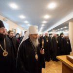 Архієпископ Боярський Феодосій взяв участь в урочистостях з нагоди Актового дня Київських духовних шкіл (+ВІДЕО)