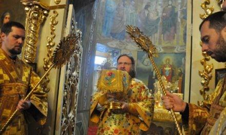Архієпископ Феодосій звершив Літургію у Неділю 20-ту після П'ятидесятниці