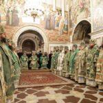 Архієпископ Феодосій співслужив Предстоятелю в день пам'яті прп.Нестора Літописця (+ВІДЕО)