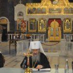 Архієпископ Феодосій взяв участь у щорічних єпархіальних зборах Київської єпархії