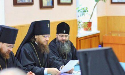 Архиепископ Феодосий принял участие в последнем в этом году заседании Ученого совета КДА