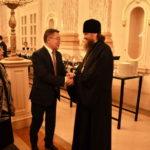 Архієпископ Боярський Феодосій взяв участь у прийомі з нагоди Дня незалежності Республіки Казахстан