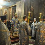 Архієпископ Феодосій звершив всенічне бдіння напередодні свята Введення у храм Пресвятої Богородиці