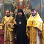 У Неділю 25-ту після П'ятидесятниці архієпископу Феодосію співслужили клірики РПЦЗ з США