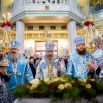 Архієпископ Феодосій співслужив Предстоятелю УПЦ у храмі Різдва Христового Північного київського вікаріатства (+ВІДЕО)