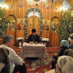 Архієпископ Феодосій провів зустріч з парафіянами Всіхсвятського храму на Лісовому кладовищі м.Києва