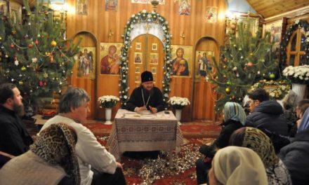 Архиепископ Феодосий провел встречу с прихожанами Всехсвятского храма на Лесном кладбище г.Киева