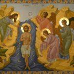 Архієпископ Боярський Феодосій звершив Літургію і освячення води в Хрещенський святвечір