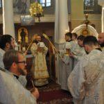 У свято Обрізання Господнього архієпископ Феодосій звершив Божественну Літургію у відроджуваному храмі св.Костянтина і Єлени