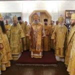 Архієпископ Феодосій привітав єпископа Васильківського Миколая з 50-річчям