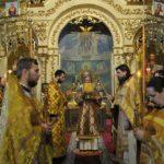 Архієпископ Феодосій звершив Літургію у Неділю про Закхея