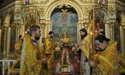 Архиепископ Феодосий совершил Литургию в Неделю о Закхее