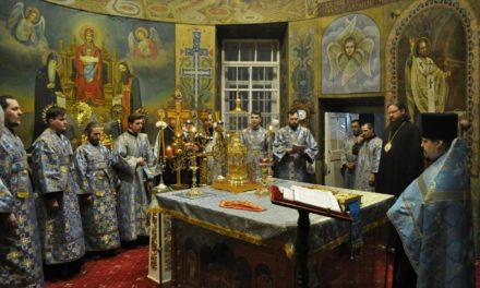 Архиепископ Феодосий совершил всенощное бдение накануне Недели о блудном сыне