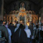 Архієпископ Феодосій звершив вечірню з чином прощення у Хрестовоздвиженському храмі столиці