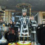 Архієпископ Феодосій звершив Літургію Передосвячених Дарів та освячення колива у Введенському Обиденному храмі на Теремках (+ВІДЕО)