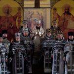 Архієпископ Феодосій очолив соборну Літургію і спільне говіння духовенства Подолу