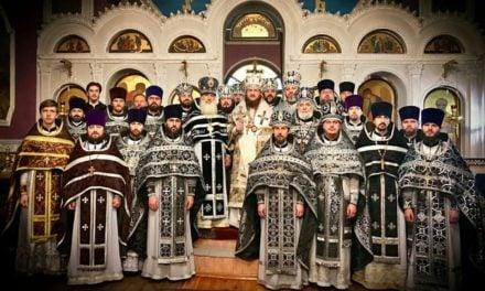 Архієпископ Феодосій очолив соборну Літургію і загальне говіння духовенства Оболонського благочиння