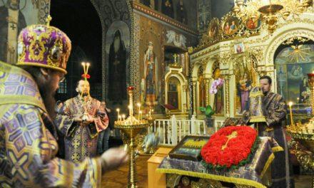 Архієпископ Феодосій звершив всенічне бдіння напередодні Неділі 3-ї Великого посту