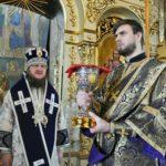 Архієпископ Феодосій звершив Літургію в останню поминальну суботу Великого посту