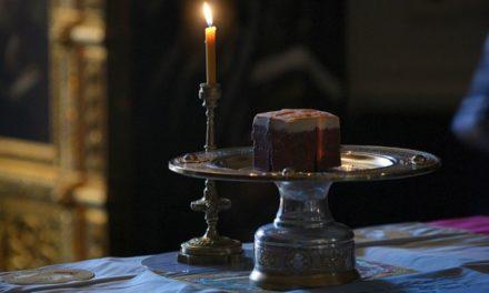Архиепископ Феодосий совершил Литургию Преждеосвященных Даров в Четверток Великого канона