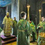 Архієпископ Феодосій звершив Літургію в свято Входу Господнього в Єрусалим