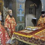 Архієпископ Феодосій звершив Літургію в Неділю 3-ю після Пасхи, святих жон-мироносиць